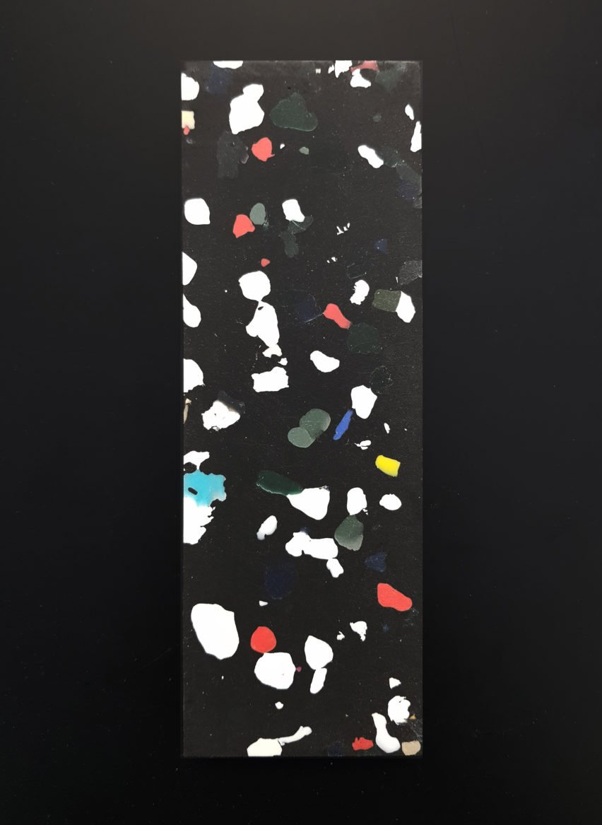 Plasticiet produces terrazzo-like material from recycled plastic