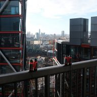 Artist's binoculars let Tate Modern visitors look inside RSH+P's Neo Bankside