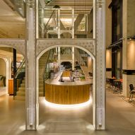 Tank and Conran and Partners create sustainable luxury interiors at QO hotel in Amsterdam