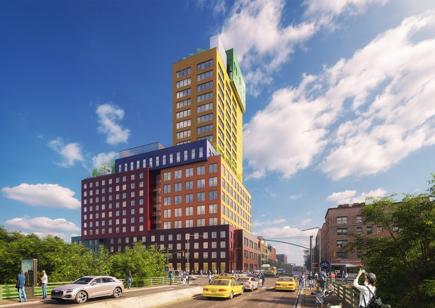 Radio Tower & Hotel by MVRDV
