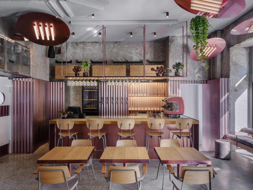 Rare Pastrami Bar by Crosby Studios
