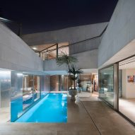 "AGi Architects' Rock House features ""origami-like"" stone facades"