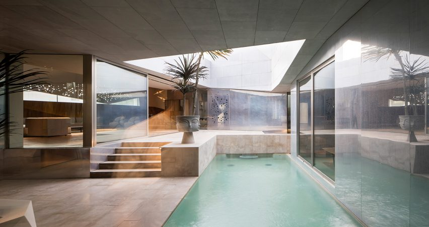 AGi Architects' Rock House features