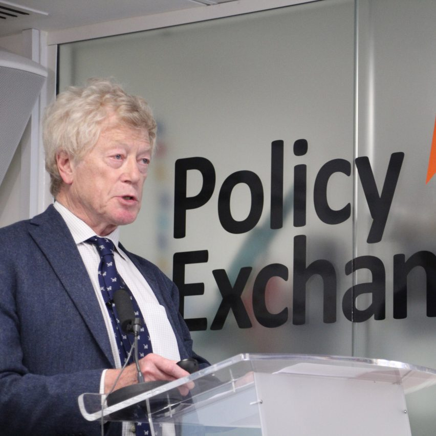 Roger Scruton at Policy Exchange, November 2018