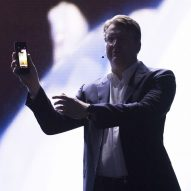 This week a folding smartphone and bricks made from urine were unveiled