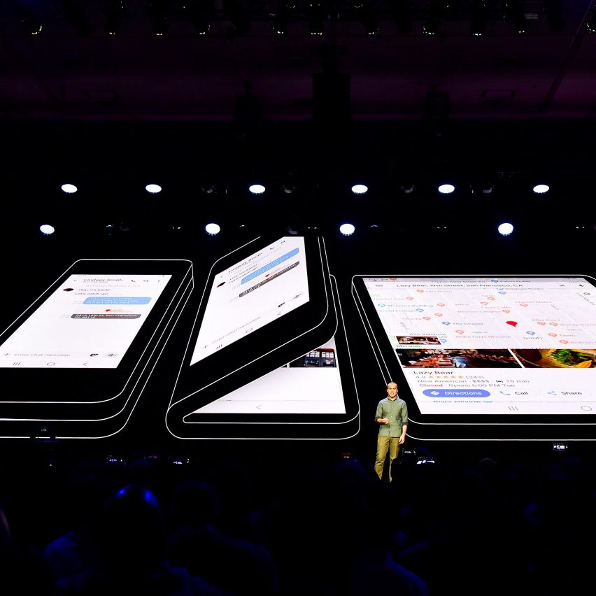 Samsung unveils foldable smartphone