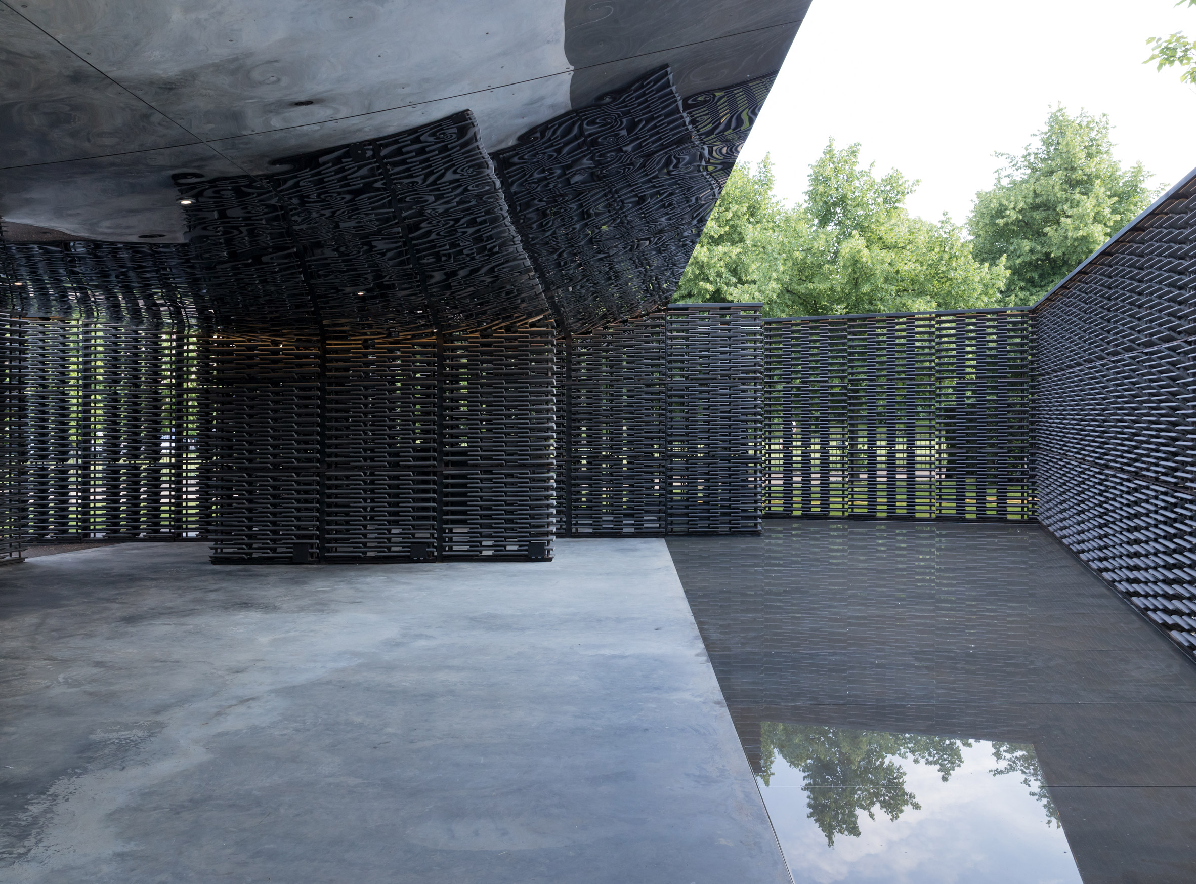 Serpentine Pavilion by Frida Escobedo, London, UK