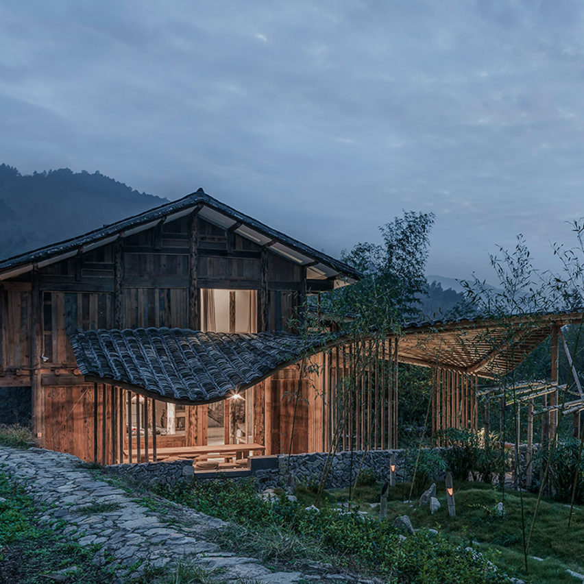 Springingstream guesthouse, Fujian province, by WEI Architects