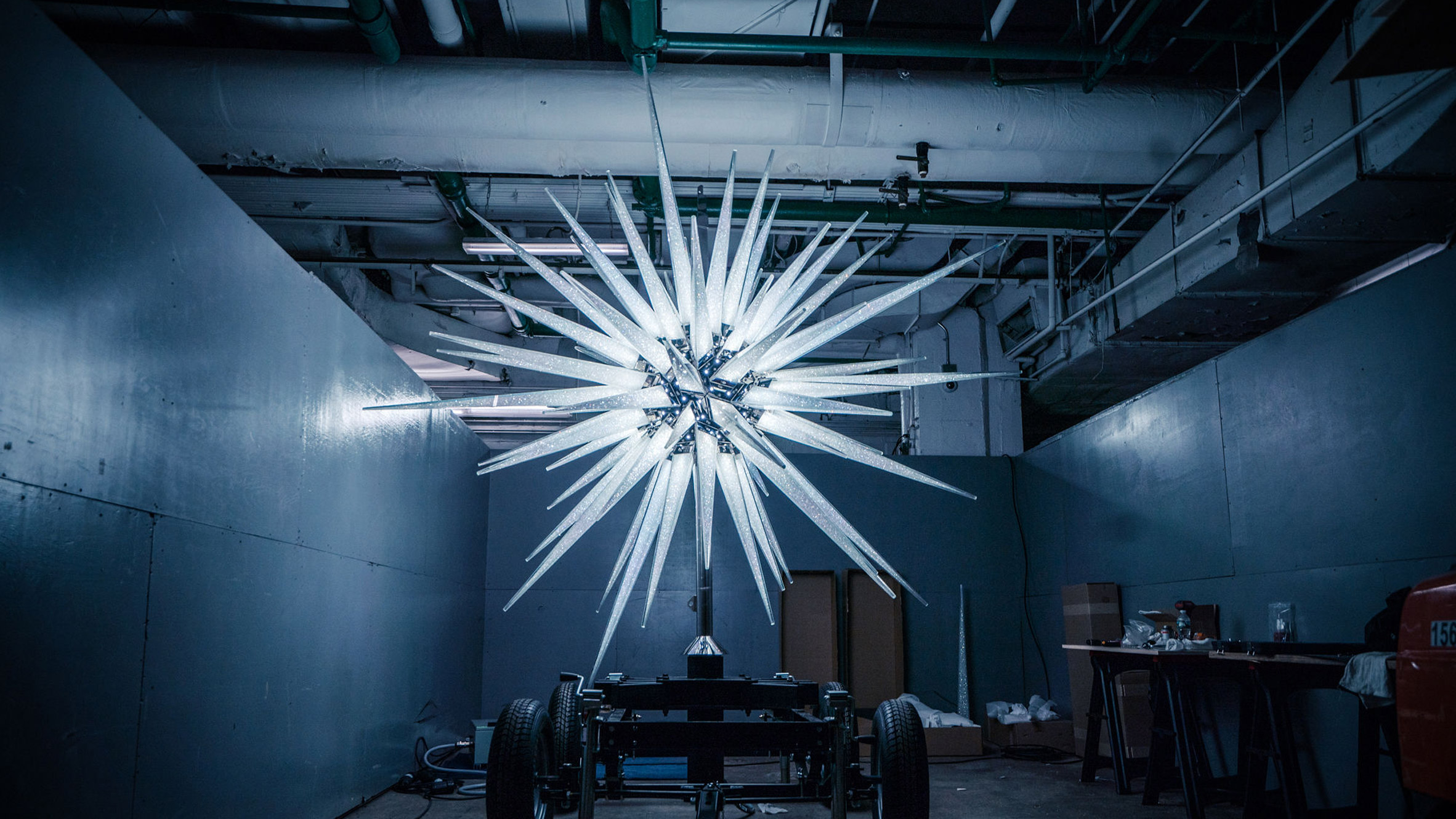 Daniel Libeskind's Swarovski Star for Rockefeller Center Christmas tree