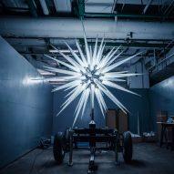Daniel Libeskind's Rockefeller Christmas tree star sparkles with Swarovski crystal spikes