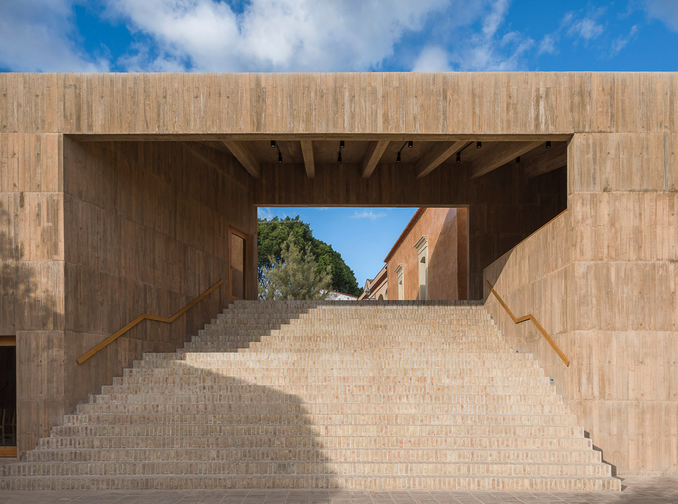 Community Cultural Centre, Teotitlán del Valle by Productura