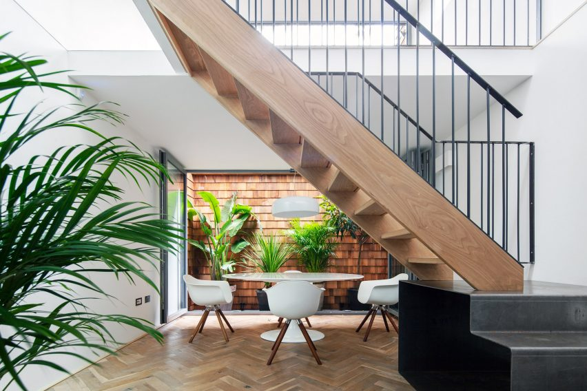 The Gouse house in Dalston, Hackney by Marta Nowicka