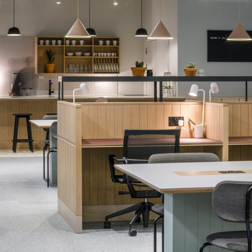 Superior Top 10 Office Interiors: Thomas House, UK By SODA