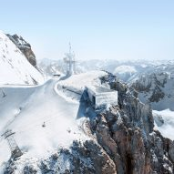 Herzog & de Meuron unveils plans for mountaintop outpost in Swiss Alps