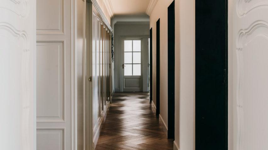 Dezeen's top 10 home interiors of 2018: Sant Gervasi apartment by Isabel López Vilalta