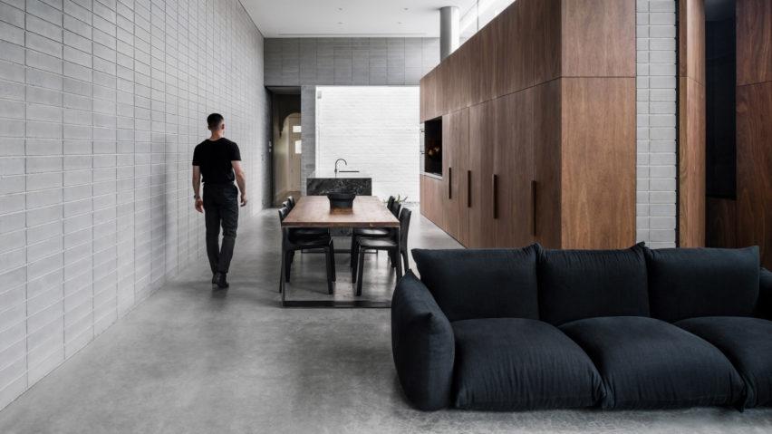 Dezeen's top 10 home interiors of 2018: Highbury Grove by Ritz & Ghougassian