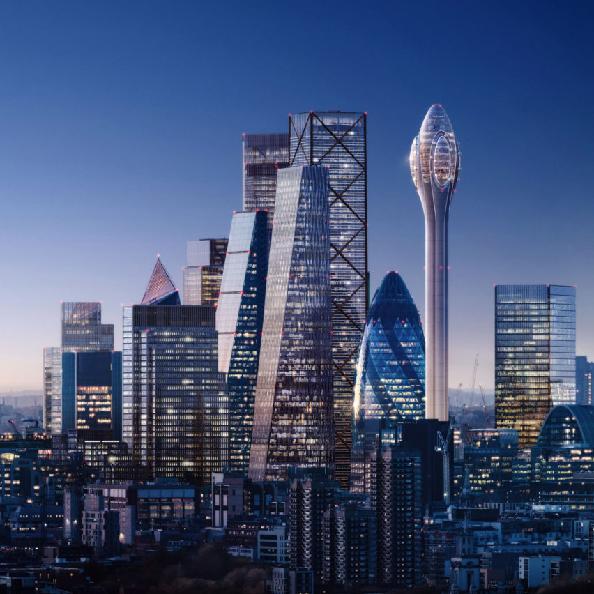 Foster + Partners breaches planning guidelines with The Tulip, says London mayor