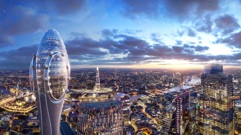 UK housing secretary to give go-ahead to Tulip tower by Foster + Partners