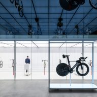 Johannes Torpe Studio creates laboratory-style bicycle store for United Cycling