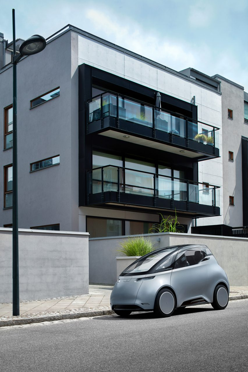 Uniti One electric car byUniti