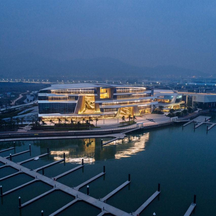 Senior architects at UNStudio in Shanghai, China
