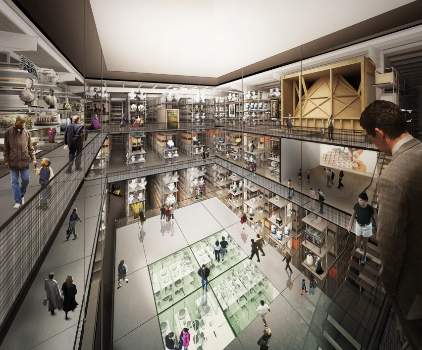O'Donnell + Tuomey and Diller Scofidio + Renfro's V&A East
