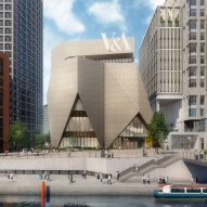 Designs revealed for V&A East buildings by O'Donnell + Tuomey and Diller Scofidio + Renfro