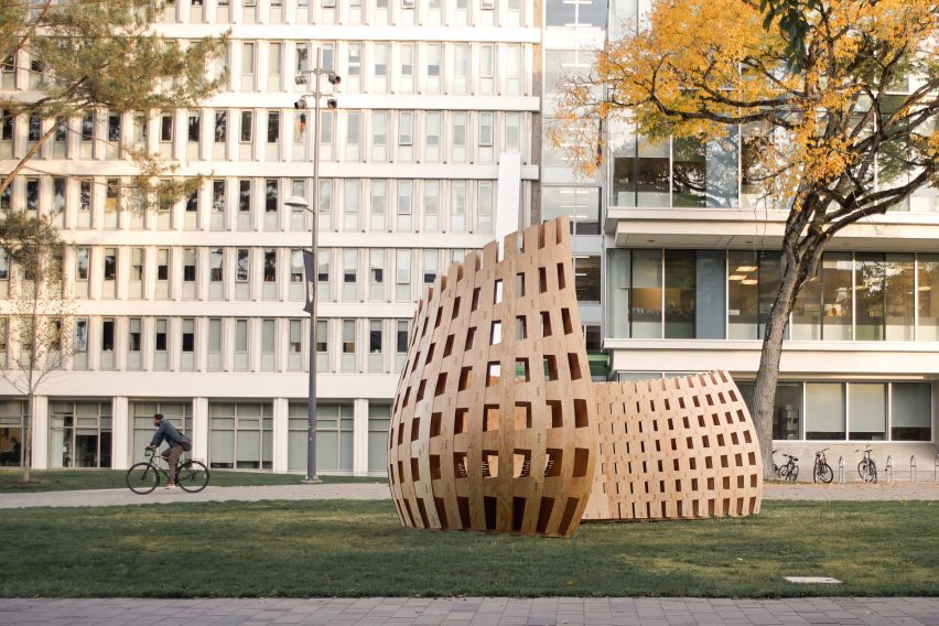 Wander Wood Pavilion by University of British Columbia