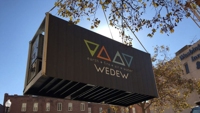 WEDEW atmospheric water generation system