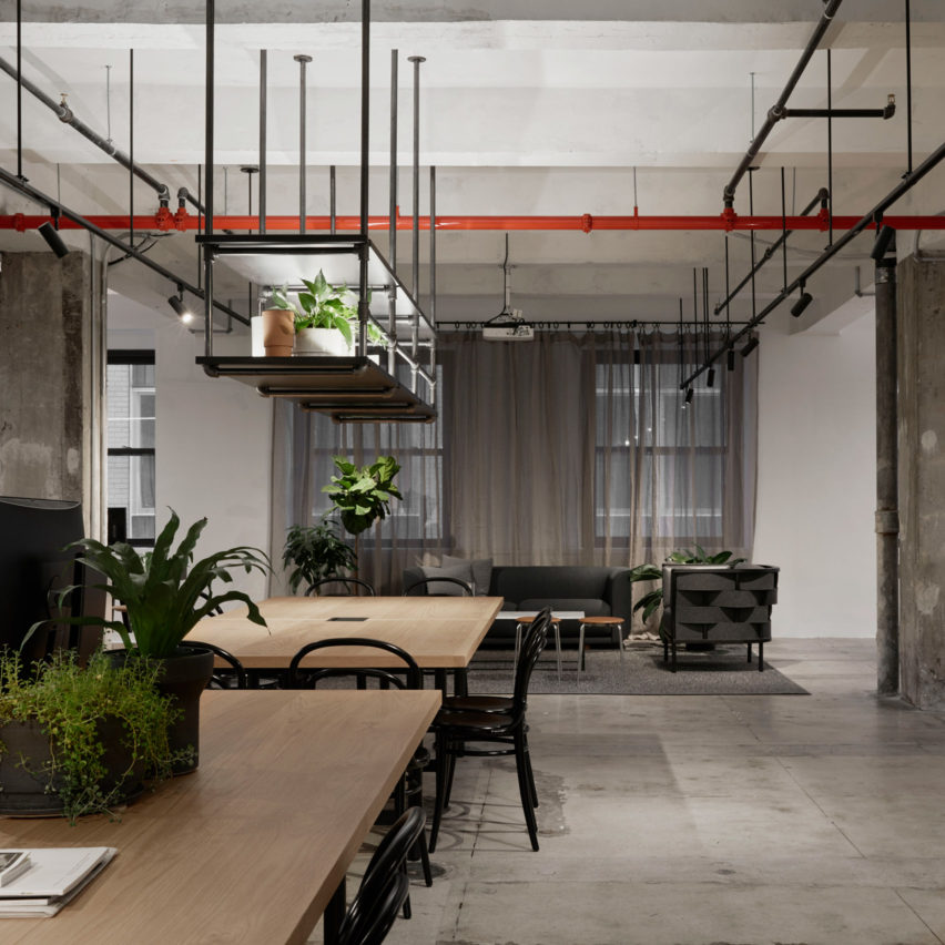 Top 10 office interiors: Woods Bagot New York Studio, USA, by Woods Bagot