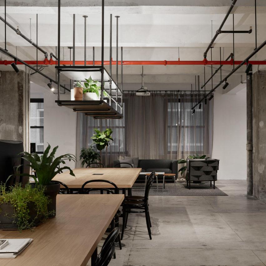 Beautiful Top 10 Office Interiors: Woods Bagot New York Studio, USA, By Woods Bagot