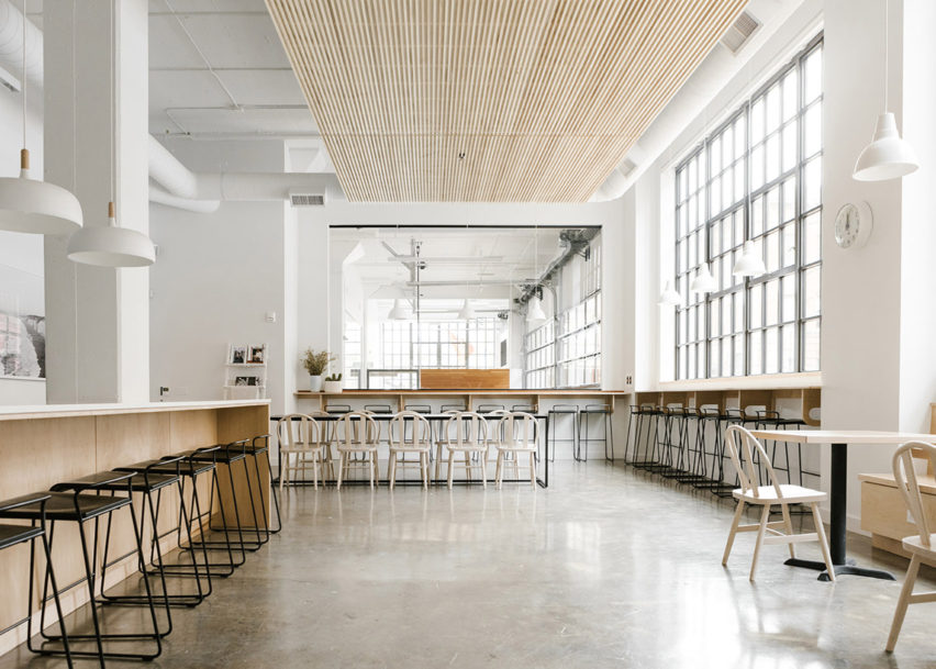 Work & Co Portland, USA, by Casework. Photo is by Nicole Mason