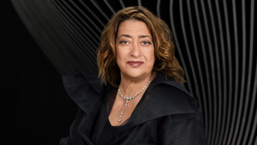 Zaha Hadid photographed by Mary McCartney