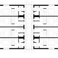 Chalet floor plan of Zallinger Retreat by Network of Architecture (NOA) in Tyrol, Italy