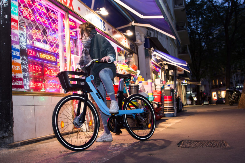 Zoov and Eliumstudio launch electric share bikes that lock together