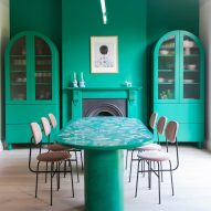 2LG Studio mix pastel hues with quirky details for home and workplace in London