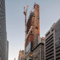 Foster's 425 Park Avenue skyscraper tops out in New York