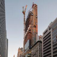 Foster's 425 Park Avenue skyscraper tops out in New York