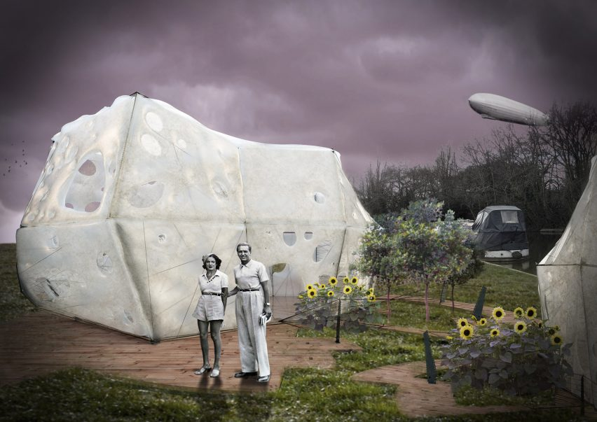 Cocoon BioFloss by Maria Vergopoulou