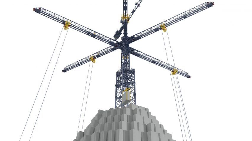 Energy Vault energy-storing bricks