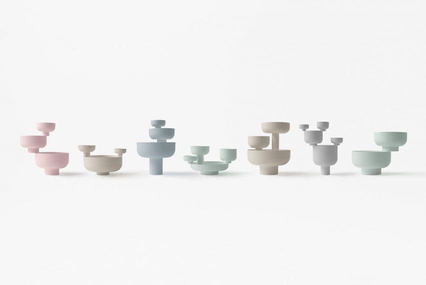 Nendo Zens tableware