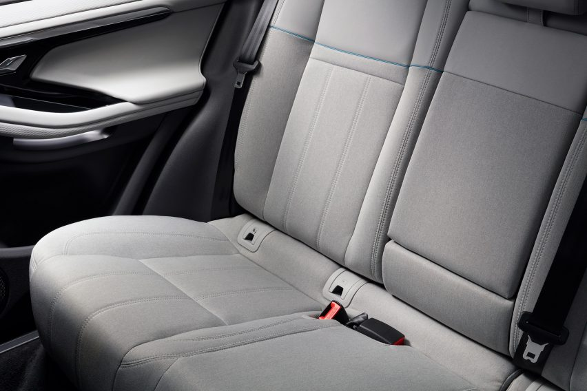 Range Rover Evoque offers upholstery in non-leather alternatives