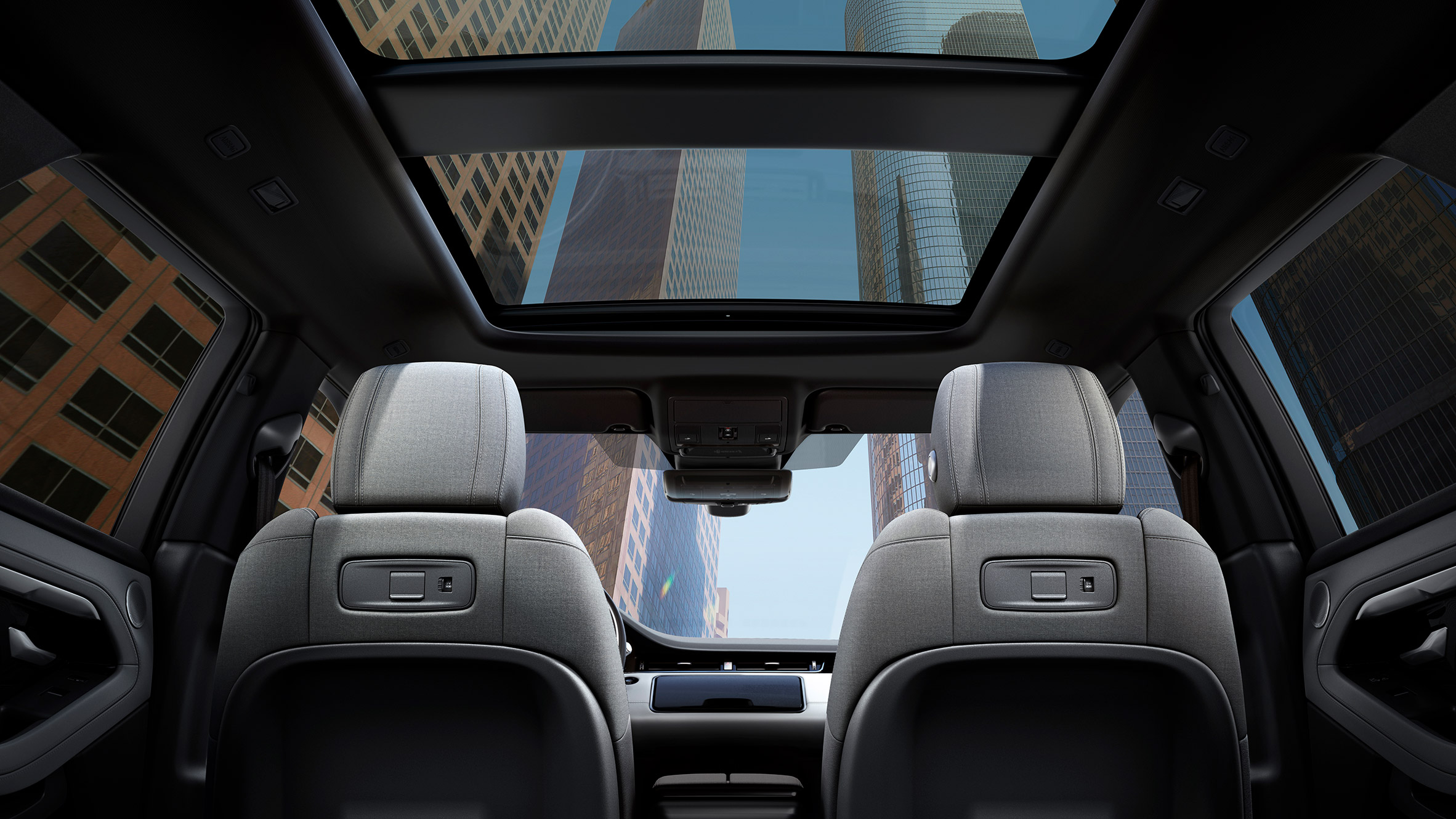 Range Rover Interior >> Range Rover Evoque Offers Upholstery In Non Leather Alternatives