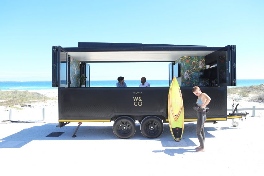 Nova Work&Co mobile office pod