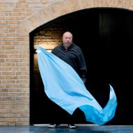 Ai Weiwei designs footprint flag as a symbol for human rights