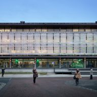 Algae curtain by EcoLogicStudio could make buildings more eco-friendly