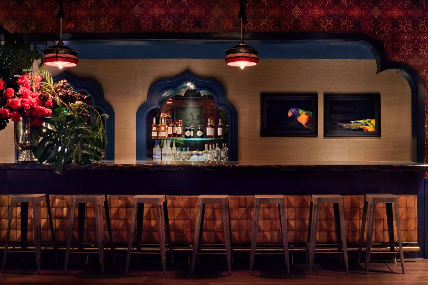 Bar Bevy interior by Ken Fulk