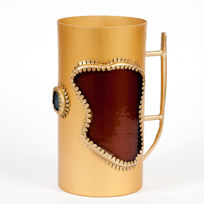 Bellyflop Collection pitcher by Misha Kahn