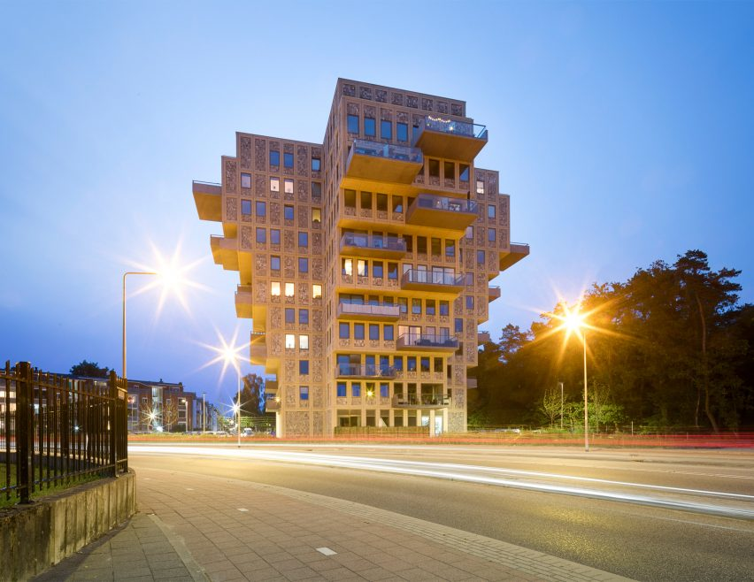 Belvedere tower in the Netherlands by René van Zuuk Architekten