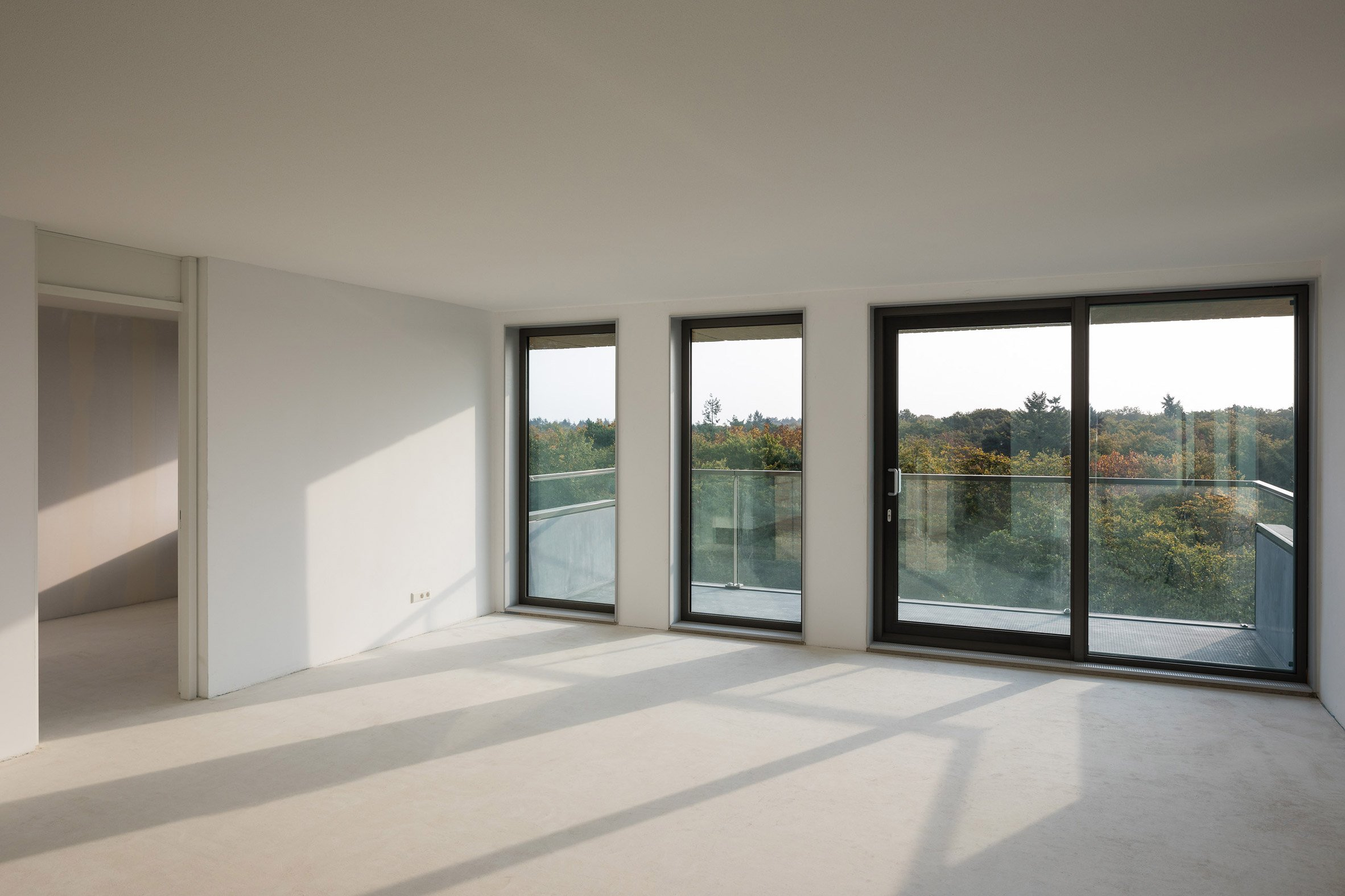 Interiors of Belvedere tower in the Netherlands by René van Zuuk Architekten